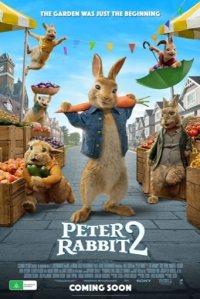 Cartel (Poster) promocional de Peter Rabbit 2