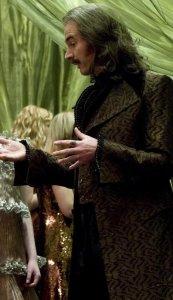 Eldred Worple (Paul Ritter) en Harry Potter y el misterio del príncipe
