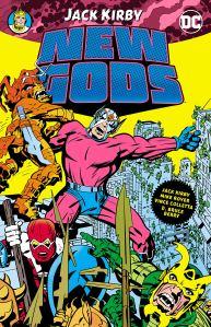 """Portada de """"The New Gods"""" de Jack Kirby. Comic la cual seria basada la pelicula de DC Comics"""