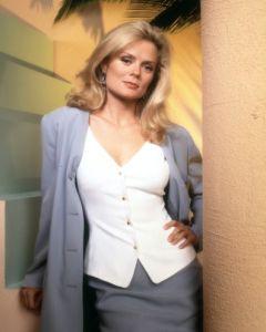 La actriz Romy Walthall (Windsor) conocida por su rol en Face/Off