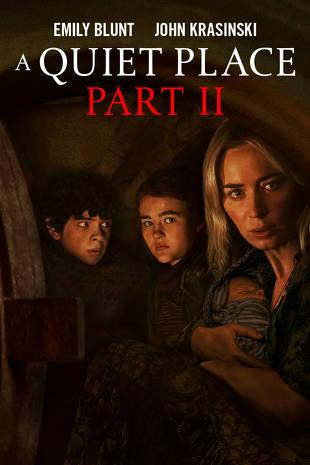 Un lugar en Silencio Parte 2 cartel promocional