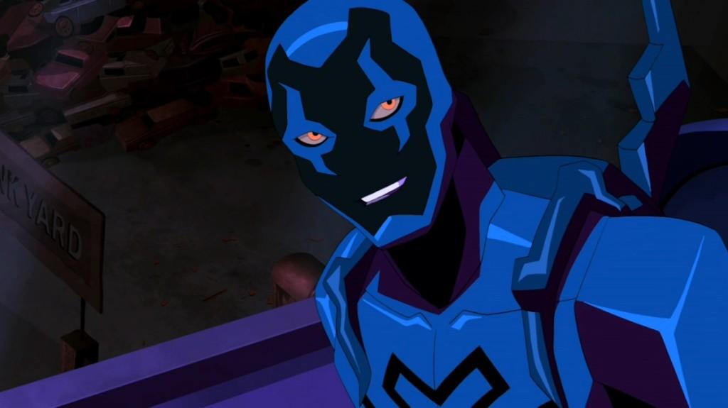 Escarabajo Azul en la serie Young Justice Invasion.