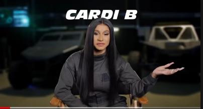 Cardi B interpreta a Leysa en Rápidos y Furiosos