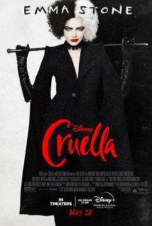 Cruella película 2021.