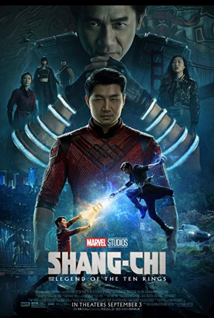 Poster/Cartel promocional de Shang Chi
